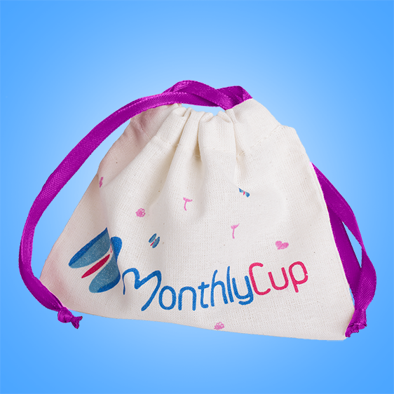 MenstrualCup - MonthlyCup - Size Mini - Bag