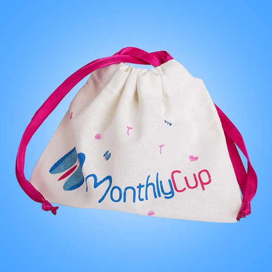 MenstrualCup - MonthlyCup - Size 1 - Bag