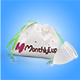 MenstrualCup - MonthlyCup - Size Mini - Bag and Cup